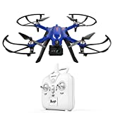DROCON Blue Bugs Brushless Drone Supports Gopro Action Cameras 500 Meters Long Control Range and Long Flying Time ,The Advanced Quadcopter MJX Bugs 3 Drone for the Man You Cherish