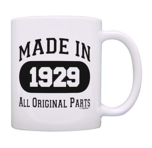 90th Birthday Gifts for Men Made 1929 All