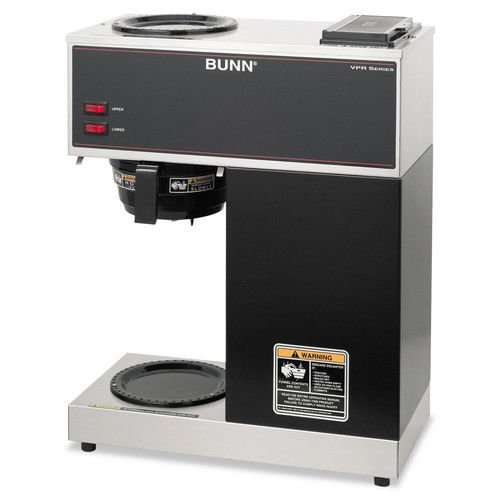 Bunn-O-Matic Pour-O-Matic Model VPR Coffee Brewer, Stainless Steel/Black by Bunn-O-Matic Corp.