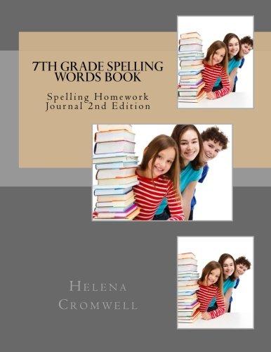 7th Grade Spelling Words Book: Spelling Homework Journal