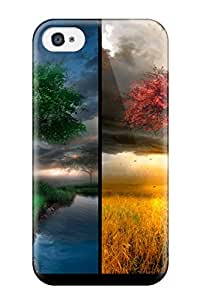 NMUqROv11337sxAEA Tpu Phone Case With Fashionable Look For Iphone 4/4s - Hd Desktop S