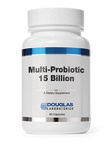 Douglas Laboratories - Multi-Probiotic 15 Billion - Multi-Strain Probiotic with Prebiotic FOS - 60 Capsules