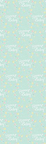 Pack Of 3 Rolls Of Baby Shower Wrapping Paper 3 Different Gift Wrap