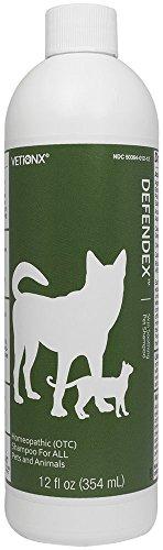 Ketochlor Medicated Shampoo (VETiONX Defendex 12 oz. Natural Skin-Soothing Relief Shampoo for Mange and Flea Symptoms)