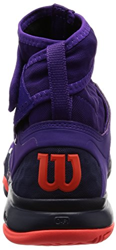 Wilson Amplifeel Damen Tennisschuhe - Lila / Blau / Koralle Tillandsia Purple / Abendblau
