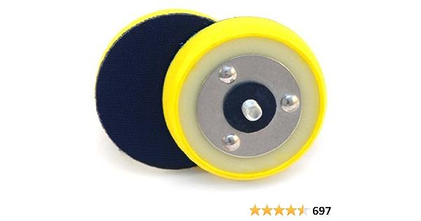 3 Pcs Polishing Machine Tray Mini Plate Backing Pad Widely Application 5//8-11