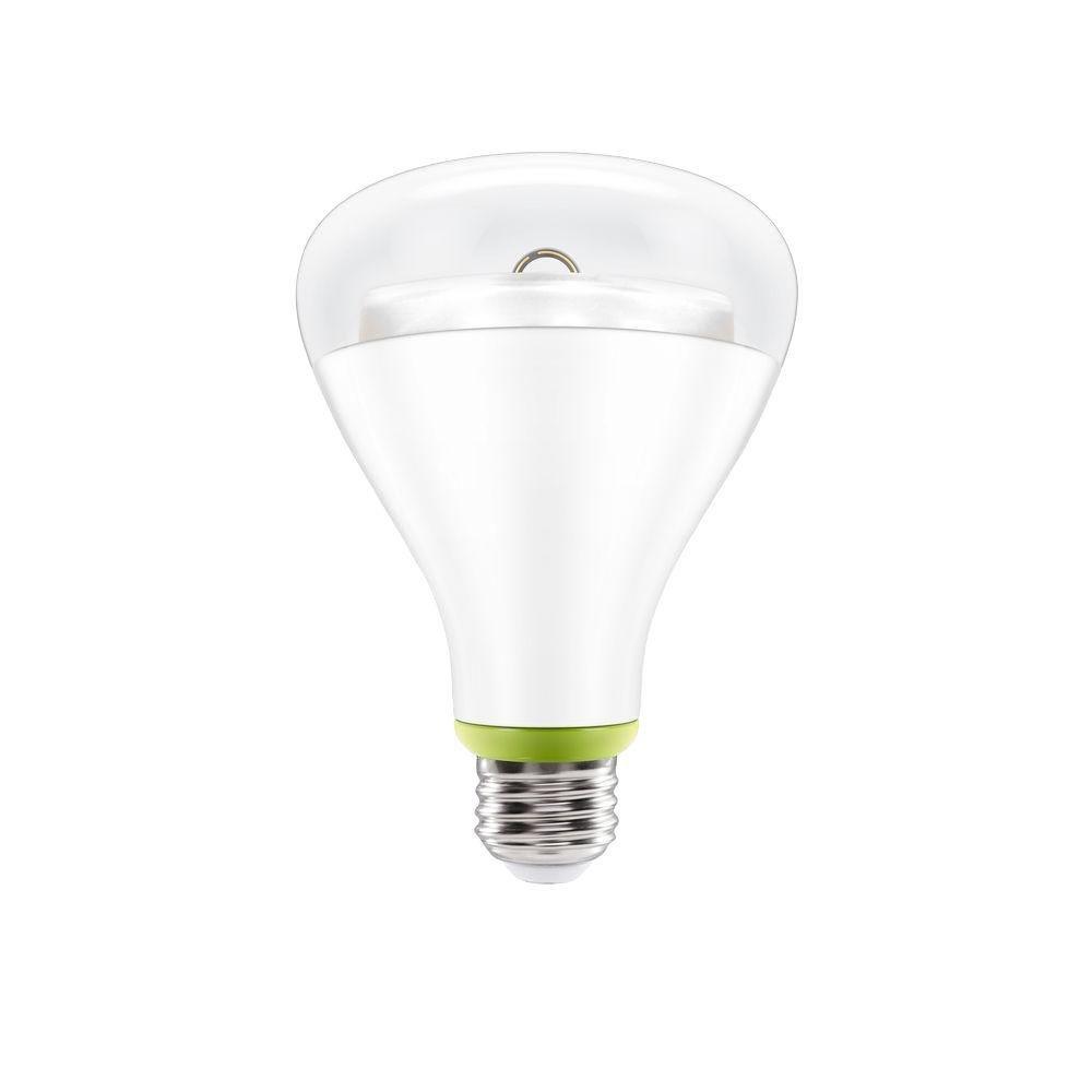 GE Link Smart LED Light Bulb, BR30 Soft White (2700K), 65-Watt Equivalent, 1-Pack, Zigbee, Works with Alexa