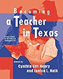 img - for Becoming a Teacher in Texas: A Course of Study for the Professional Development ExCET book / textbook / text book