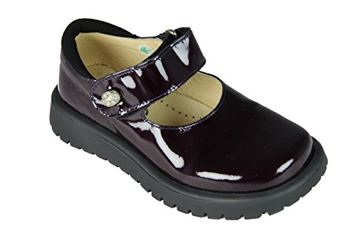 Mod8 Melissa LAXCK-Sandalen mit Klettverschluss Mädchen, Ver nacr Cassis. 28 EU