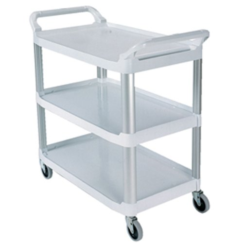 Rubbermaid Commercial Xtra Utility Cart, White, FG409100OWHT by Rubbermaid Commercial Products