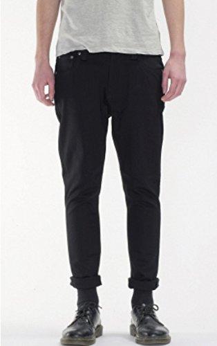 Nudie Jeans Men's Brute knut Jean In Dry Cold Black, 36x30