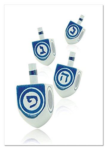 NobleWorks ''Great Dreidels'' Funny Hanukkah Greeting Card, 5'' x 7'' (C6008GHKG)