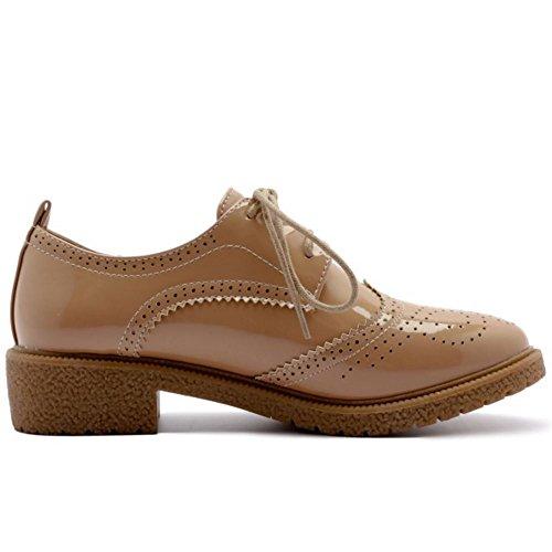 Mode Zanpa Apricot Dark OxfGoldd Femmes Chaussures Up4pvn