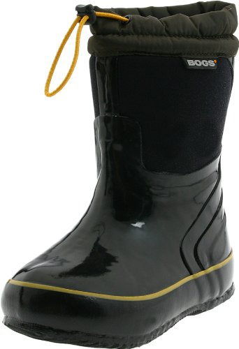 Bogs McKinley Snow Boot (Toddler/Little Kid/Big Kid), Black, 10 M US Toddler by Bogs