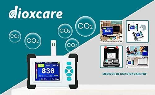 hochpr/äziser NDIR-Sensor mit PDF-Daten/übertragung an den Computer CO2-Melder Dioxcare PDF-CO2-Messger/ät Temperatur und Luftfeuchtigkeit