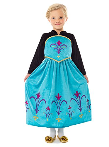 Little Adventures Traditional Ice Queen Coronation Girls Princess Costume - Small (1-3 Yrs) (Beauty Queen Fancy Dress)