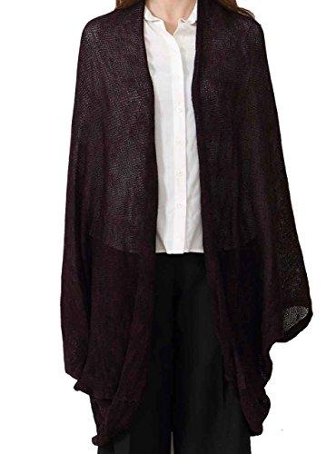 大きいサイズ レディース UVケア 紫外線対策 薄手 とろみ ロングカーディガ レディース サマーニット 長袖