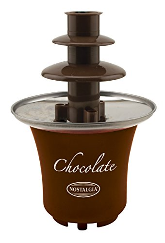 082677211934 - Nostalgia CFF300 3-Tier 0.5-Pound Capacity Chocolate Fondue Fountain carousel main 0