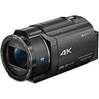SONY 4K video camera Handycam 20x optical FDR-AX40-B (Black)