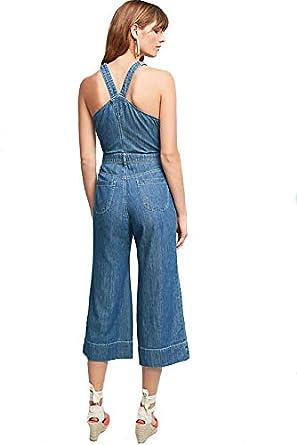 c96b9d0d7b6 Amazon.com  Pilcro and the Letterpress from Anthropologie Femme Denim  Jumpsuit