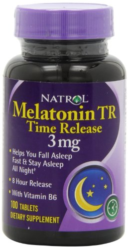 Natrol Melatonin Timed Release Tablets, 3mg 100 Count