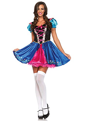 Leg Avenue Women's Alpine Princess Costume, Multi, Medium