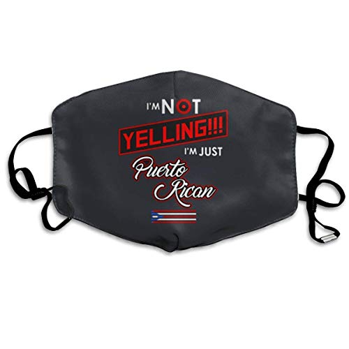Puerto Rico Yelling Custom Mouth Mask Anti-Dust Flu Warm Face Mask -