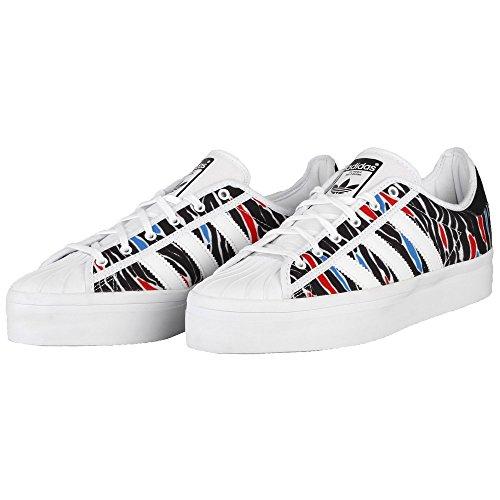 Adidas Superstar Rize W - Aq5631 Svart-blå-hvit