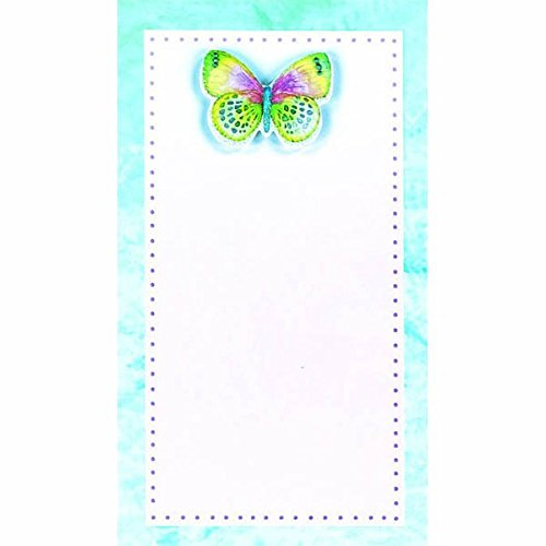 Party Perfect Delicate Butterfly Printable Invitation Sheets, Paper, 7'' x 4'', Pack of 8