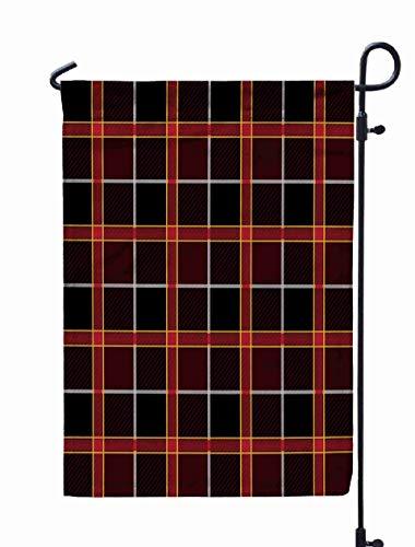 Shorping Welcome Garden Flag, 12x18Inch Plaid Lumberjack Buffalo