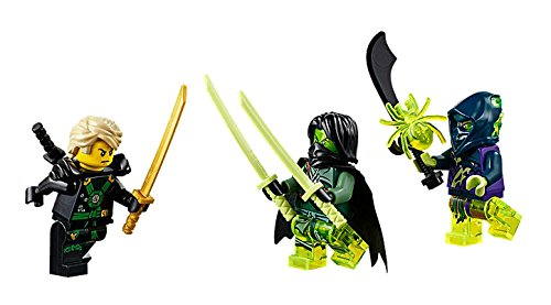 LEGO Ninjago El Vuelo Final del Barco de Asalto Ninja ...