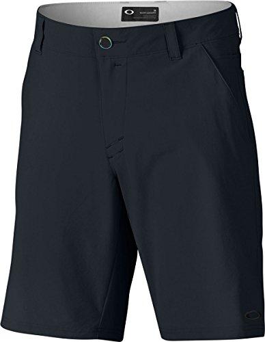 Oakley Men's Stance Two Shorts, 34, Blackout Oakley Golf Shorts