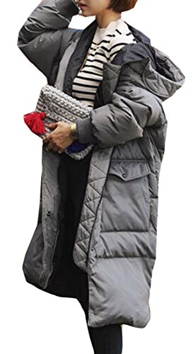Quilted Hooded Coat - 6