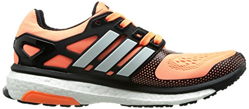 Adidas Energy Boost Esm Womens Running Trainers Nero Arancio Bianco B40903