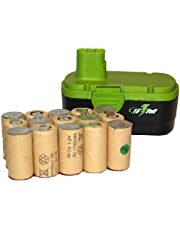 45 pcs (3 Packs) x 18 Volt Sub C 1700 mAh NiCd Batteries (Ideal for Pack Assembly)