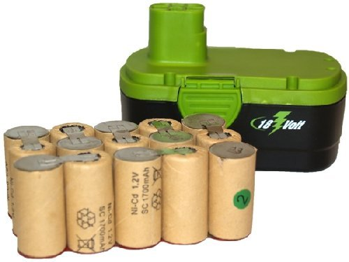 Volt Sub C 1700 mAh NiCd Batteries (Ideal for Pack Assembly) ()