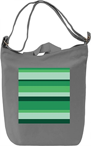 Abstract Lines Print Borsa Giornaliera Canvas Canvas Day Bag| 100% Premium Cotton Canvas| DTG Printing|