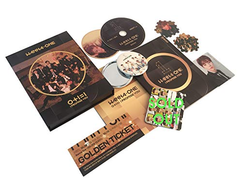 WANNA ONE 2nd Mini Album - I Promise You [ NIGHT Ver. ] CD + Photobook + Tazo + Photocard + Mirror Card + FREE GIFT / K-Pop - Cd Album One
