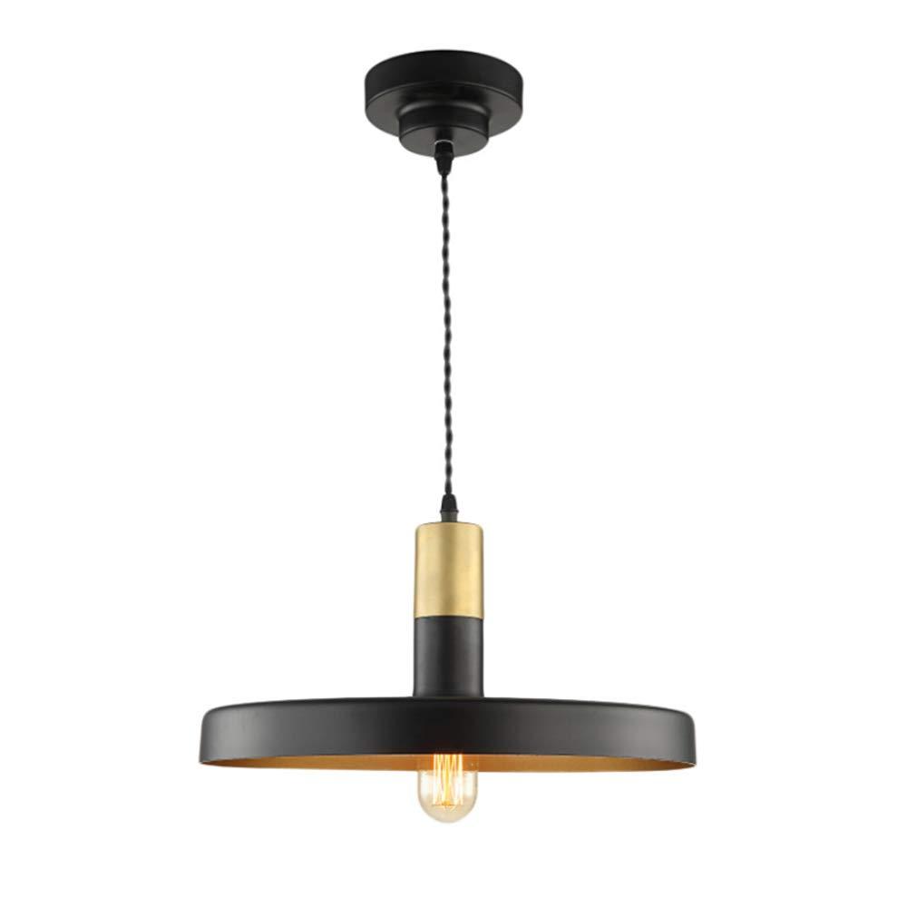 Vintage Pendellaeuchte E27 Edison Hängelampe Industrie Kronleuchter Deckenlampe Loft Pendelleuchte Retro Industrielle Hängeleuchte Deckenleuchte Lackiertem Eisen Regenschirm Lampenschirm