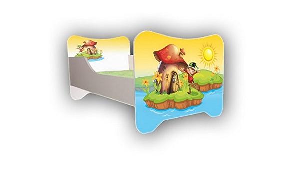 Cuna – Elf de 140 x 70 cm, incluye somier y colchón: Amazon ...