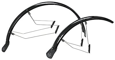 Planet Bike SpeedEZ ATB Front and Rear Bicycle Fender Set (60mm Wide)