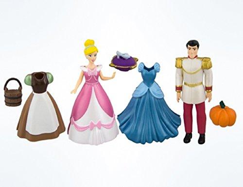 Bucket Set Princess (Disney Princess Dress Up Doll Figure Set (Cinderella))