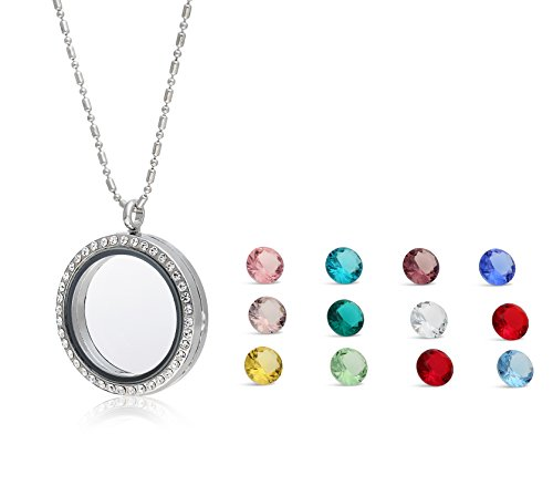 Floating Necklace Colored Regetta Jewelry