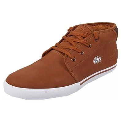 b4ce1d63f3f875 Lacoste Ampthill PW SPM Tan Dark Brown 47  Amazon.co.uk  Shoes   Bags