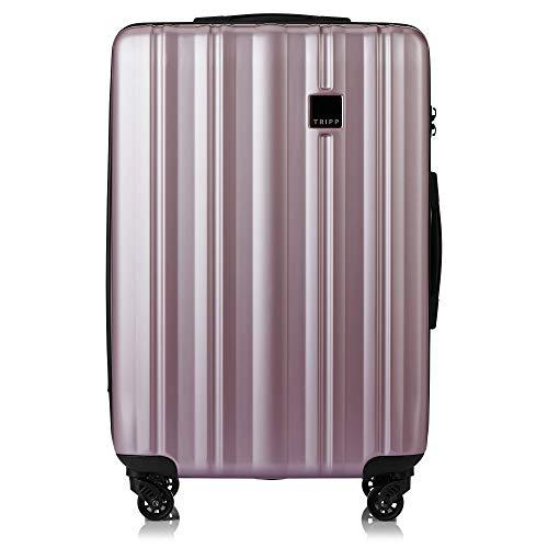 Tripp Blush Retro Medium 4 Wheel Suitcase
