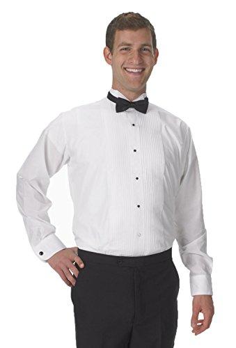 UPC 612058000415, Henry Segal Men's Tuxedo Shirt - 1/4 inch pleat wing collar (18 - 36/37)