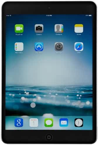 Apple ME277LL/A 8-inch iPad Mini 2 with Retina Display (1.30GHz     Dual-core Processor, 32GB GB Flash Memory, 1 GB RAM, Wi-Fi, iOS 7 Operating System) Space Gray