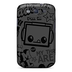 Premium [qNxrzgI5697dtNAF]illthreads Black 2 Case For Galaxy S3- Eco-friendly Packaging