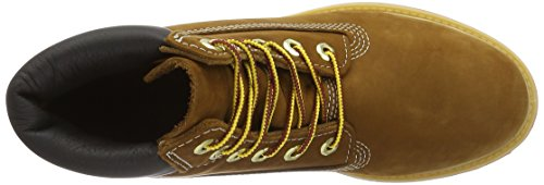Timberland Womens 6-Inch Premium Leather Boots Rust