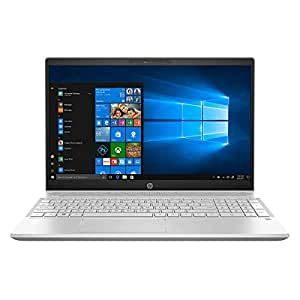 HP Pavilion 15-CS Home and Business Series Laptop - Intel Core i5-8250U 3.4GHz Max, 15.6-Inch Touch, 256GB SSD, 12GB RAM, Eng-KB, Windows 10, Silver, Gold, Blue (12GB | 256GB | Silver | No HDD)